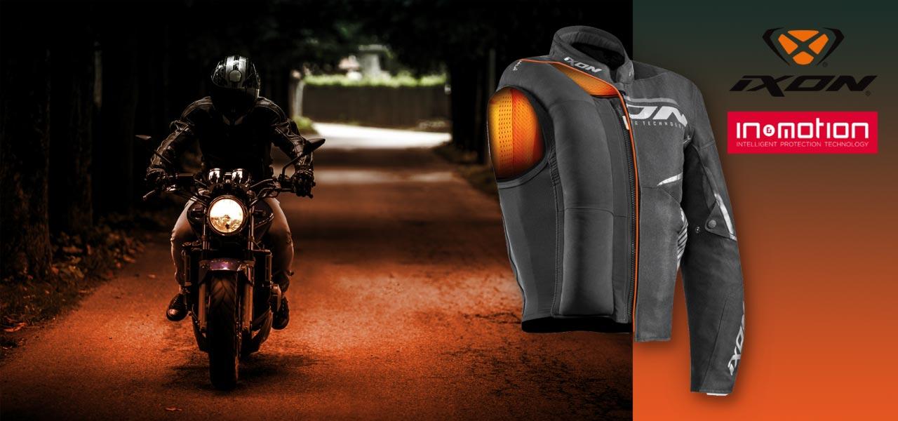 IXON Airbag connecté pour moto - Accessoirement