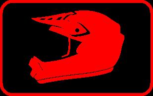 Les casques cross