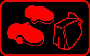 Les manchons et tabliers